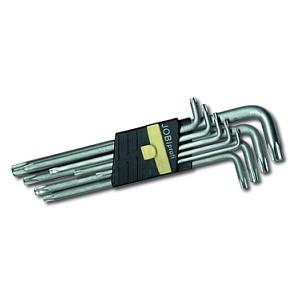 Imbusz kulcs klt. 9 db-os TORX T15-T55 JOBI
