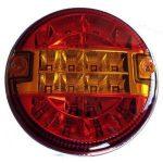 A hátsó lámpa 9-33V LED, kerek, STT20