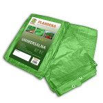 Ponyva, zöld 3x5 m, 90gr/nm (A névleges mérettől a valós méreteltérés akár 5% is lehet.)
