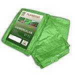 Ponyva, zöld 6x8 m, 90gr/nm (A névleges mérettől a valós méreteltérés akár 5% is lehet.)